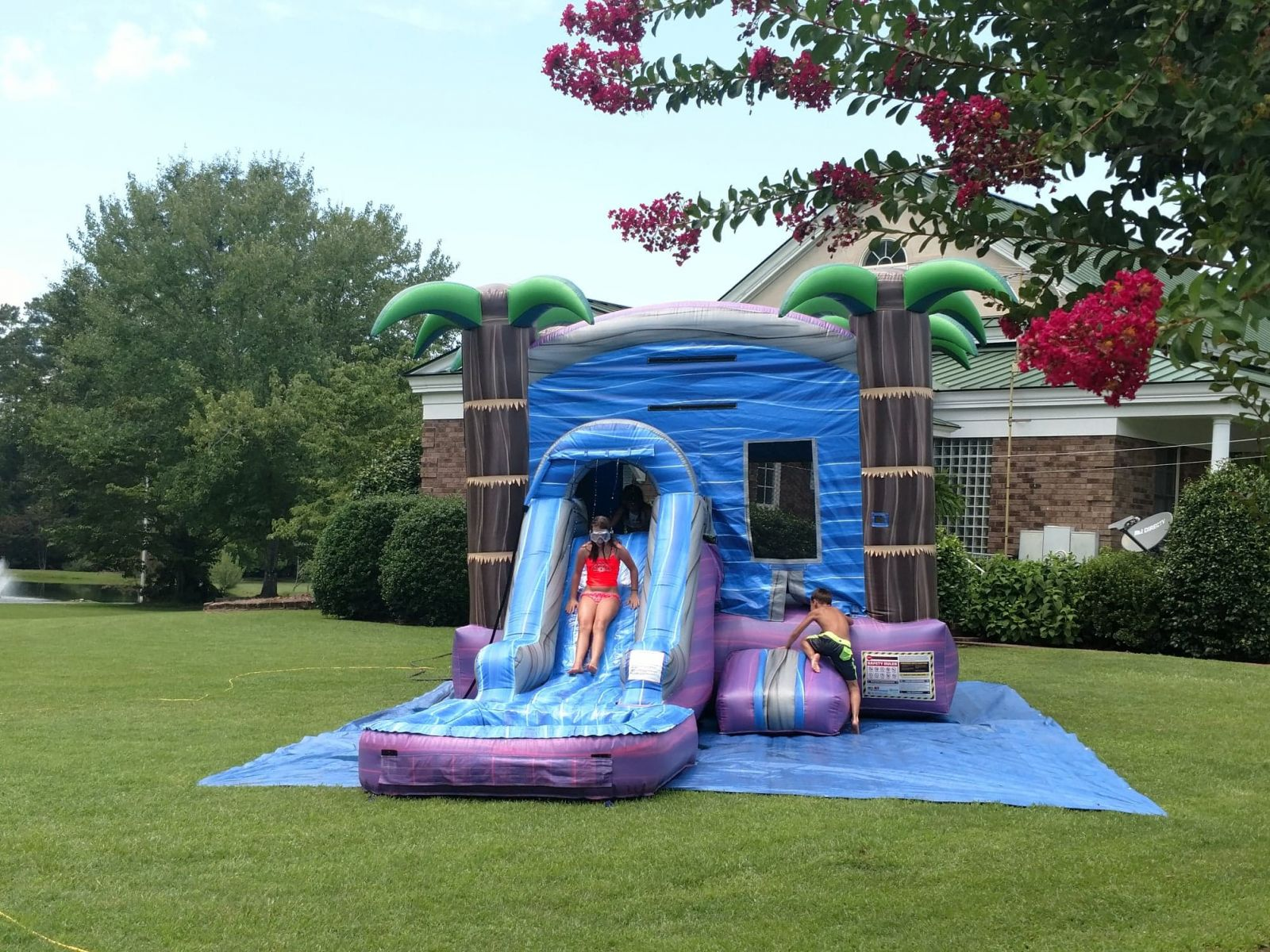 Water Slide Rental Bounce House with Water Slide